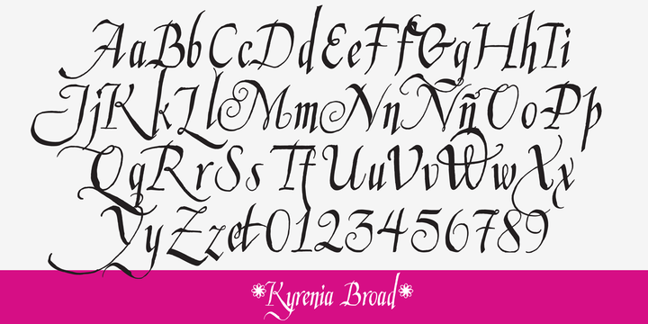 Kyrenia Font Family