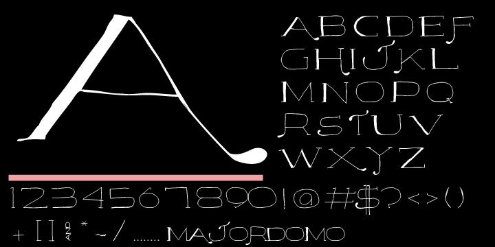 Majordomo Font