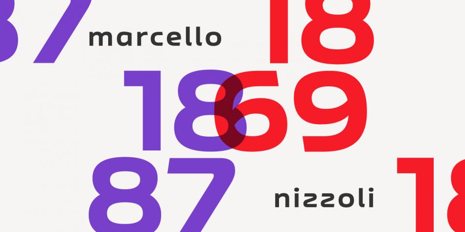 Nizzoli Font Family