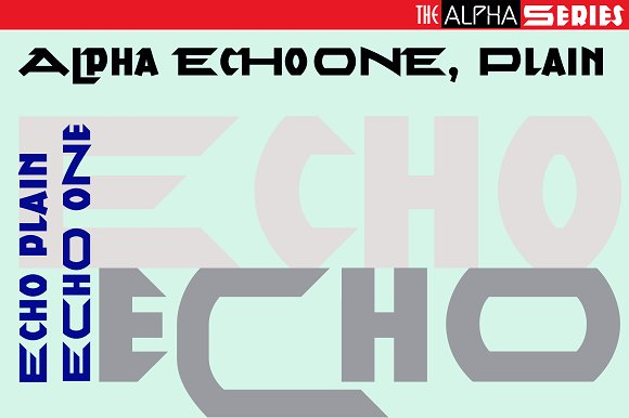 Alpha Series Font Collection
