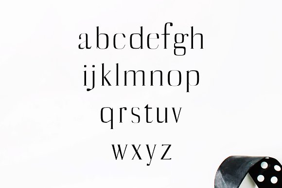 Catheryn Serif 4 Font Family Pack