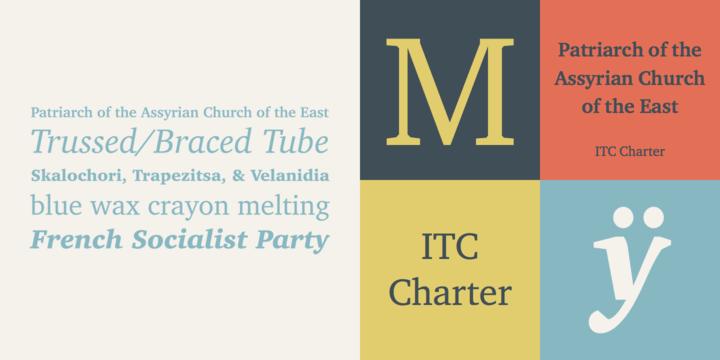 ITC Charter Font Family
