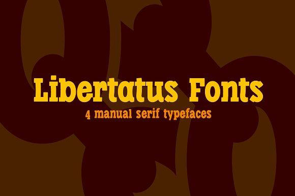 Libertatus fonts
