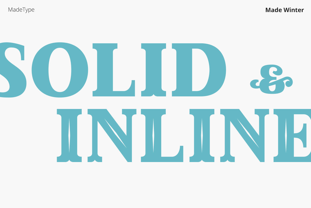 Made Winter Font Family