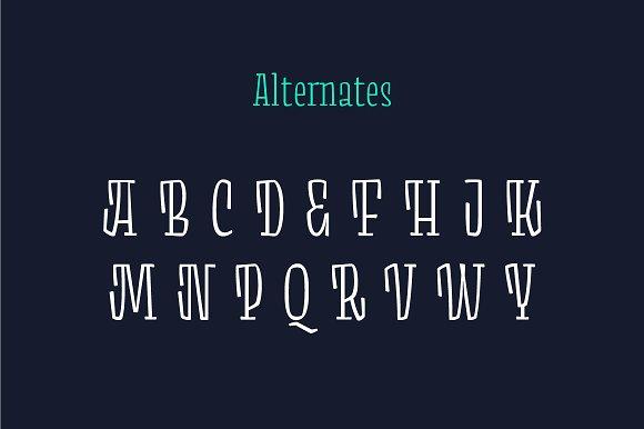 Minton 52 Font
