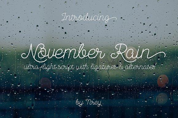 November Rain Deutsch