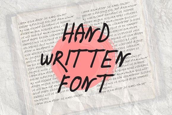 Amza pen writing Font Set