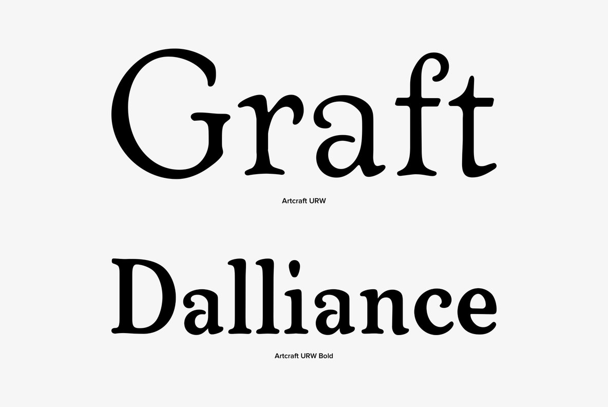 Artcraft Font Family