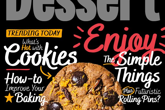 Bakerie Smooth Font Family