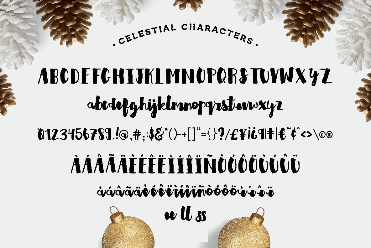 Celestial Font