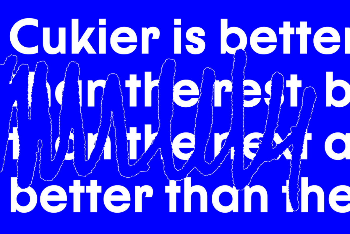 Cukier Font Family