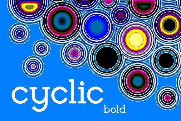 Cyclic Font