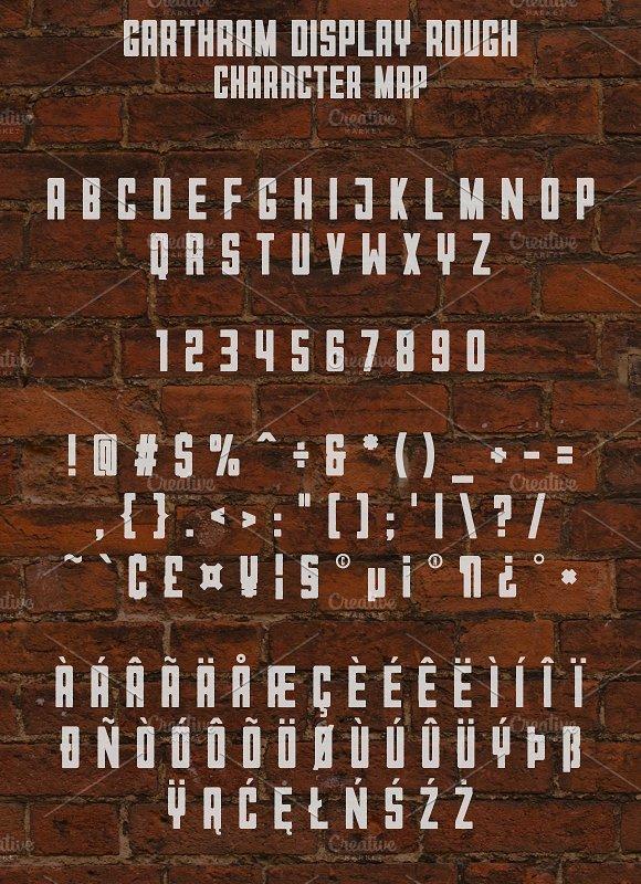 Garthram Font Duo + Vintage Logos