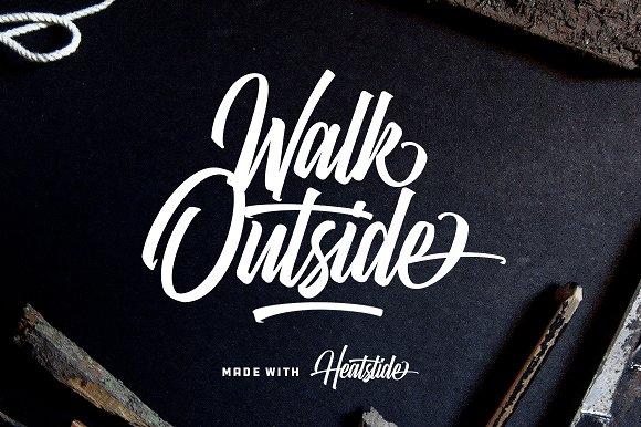 Heatslide Font