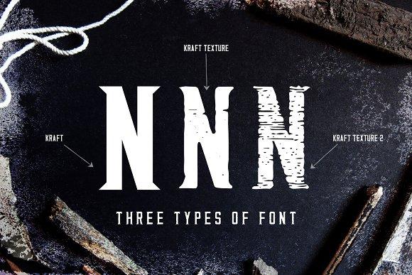 Kraft - Vintage Typeface