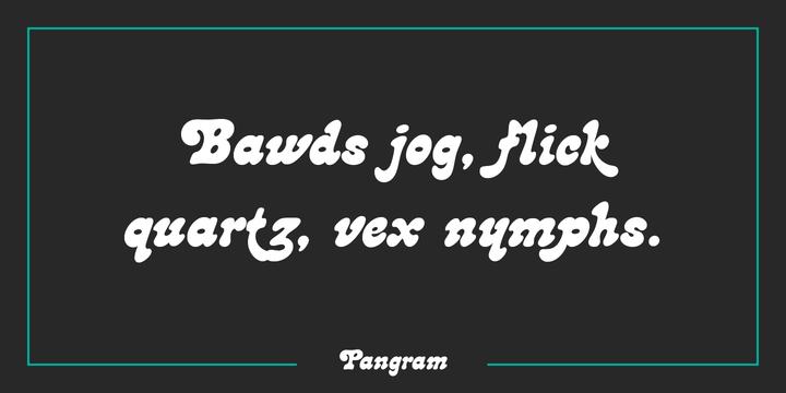Lazybones Font