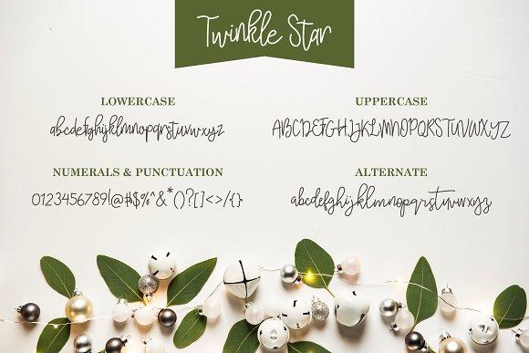 Twinkle Star Font