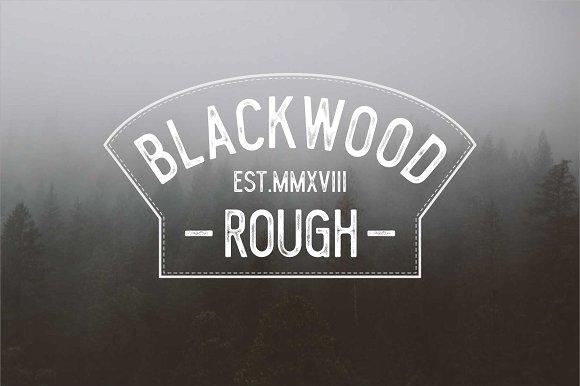 Blacklwood Font