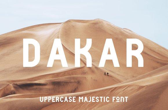 Dakar Font