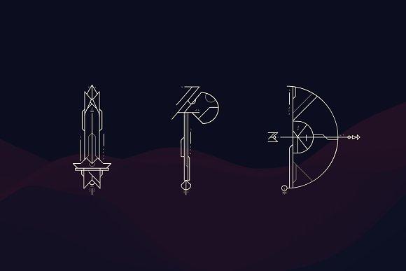 Geometrica   Font Bundle
