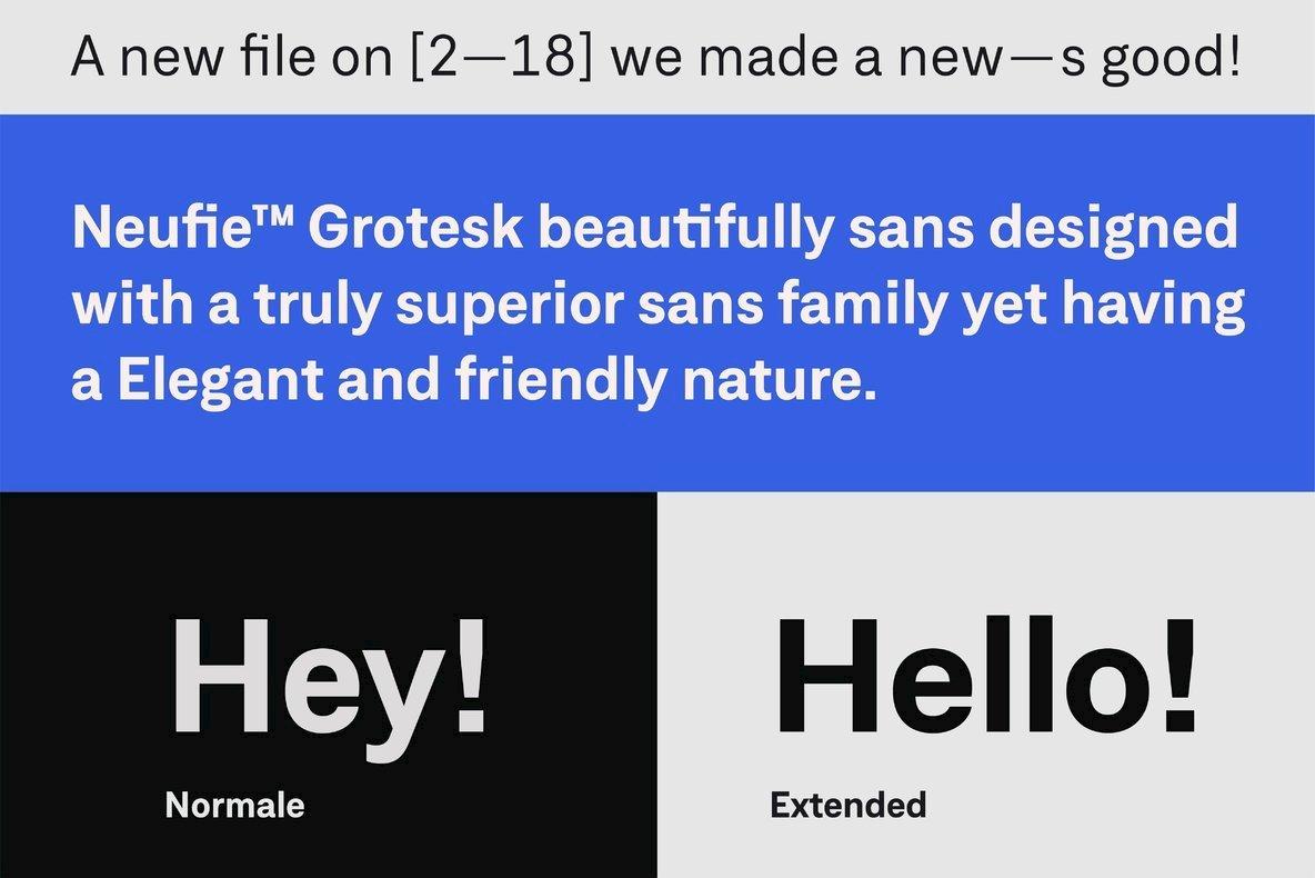 Neufile Grotesk Font Family - iFonts xyz