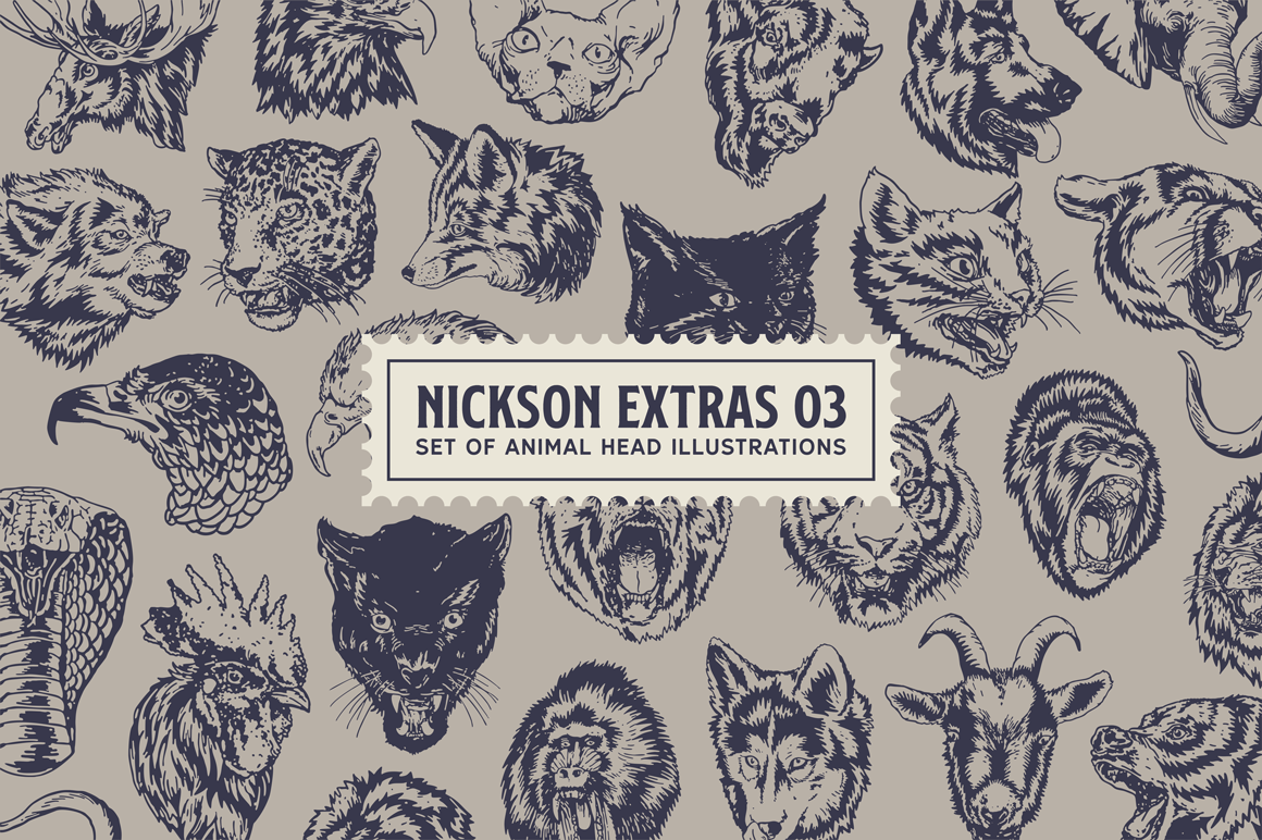 S&S Nickson Font Bundles - iFonts xyz
