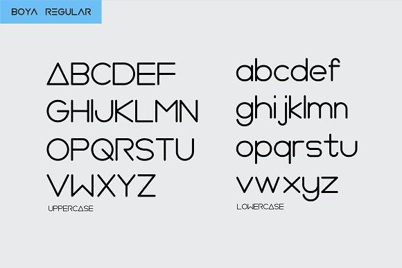 BOYA (Rounded Font )