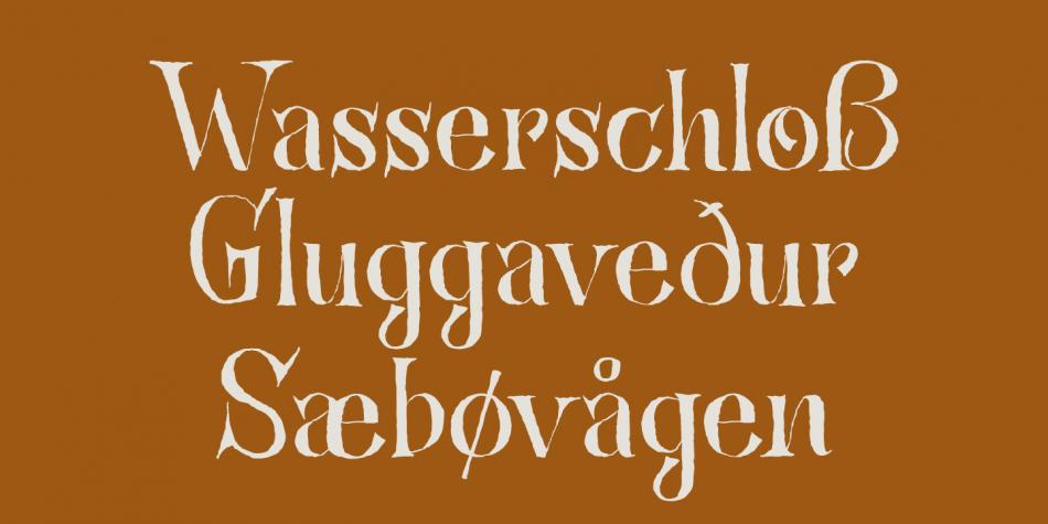 Bronwen Font Family
