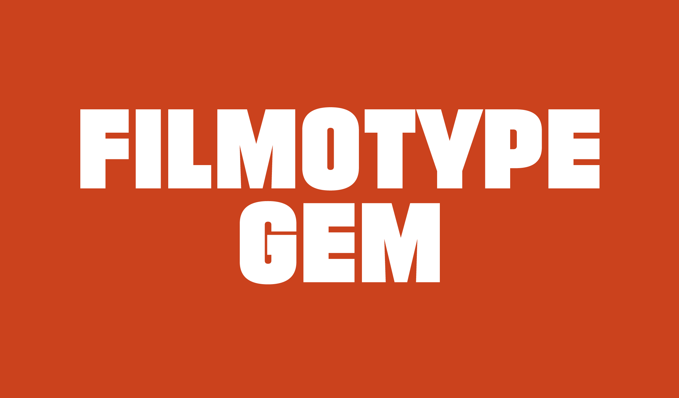 Filmotype Gem Font - iFonts xyz