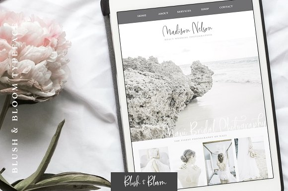 Blush & Bloom Signature Type