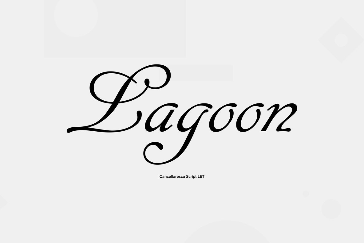 Cancellaresca Script Font