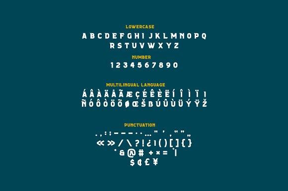 FORELAND | Vintage Font