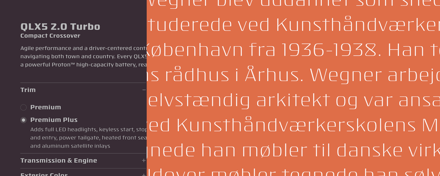 Isotope Font Family