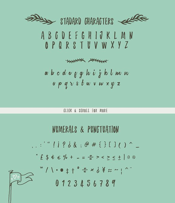 Sanderling Textured Font