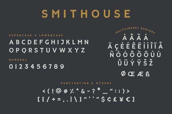SMITHOUSE FONT