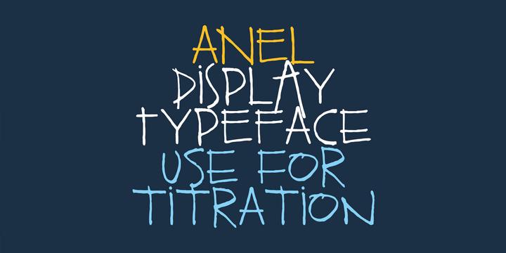 Anel Font