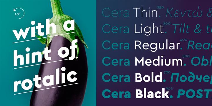 Cera Pro Font Family