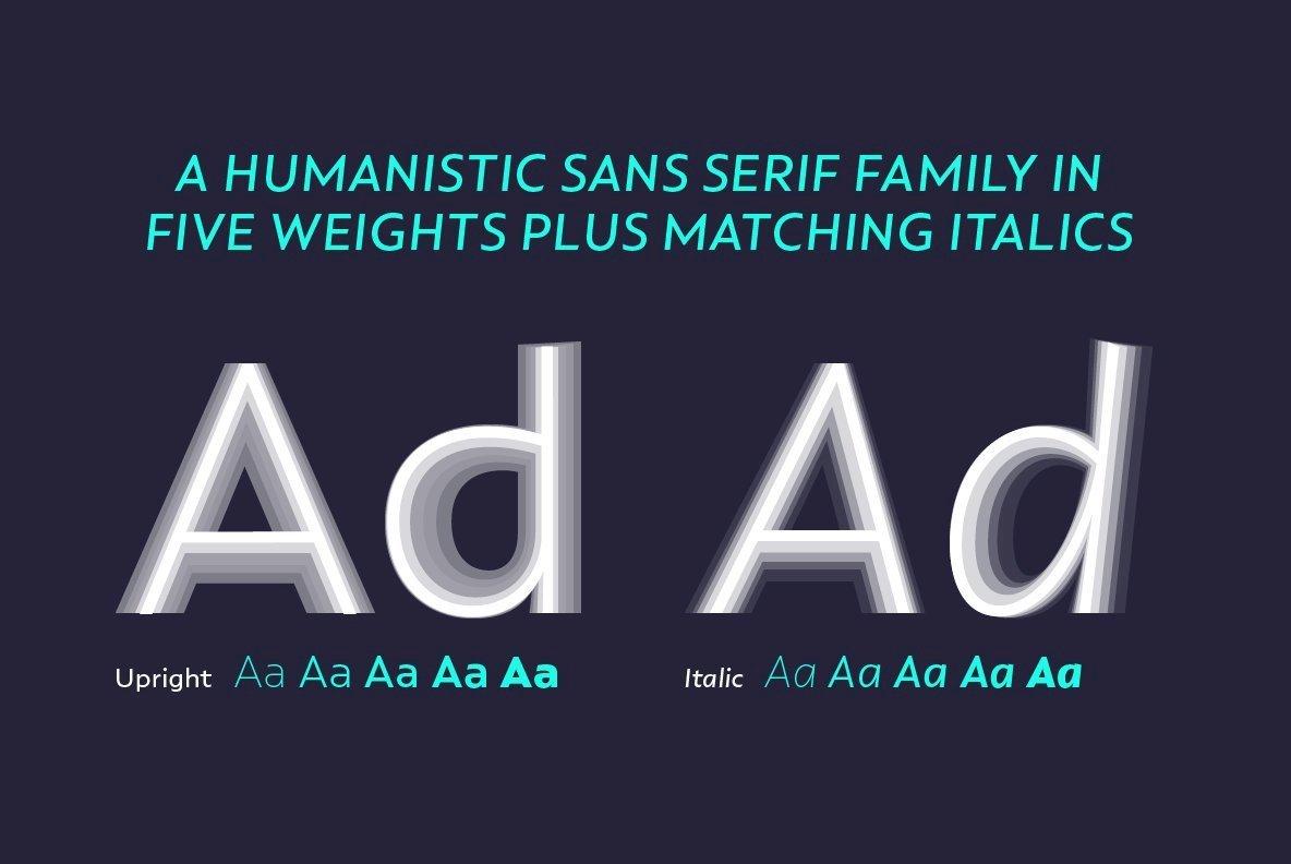 dT Ampla Font Family