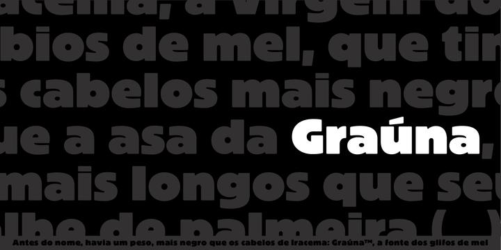 Grauna Font - iFonts xyz