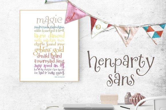 Henparty Sans