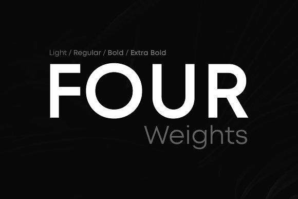 LORIN - Geometric Typeface + WebFont