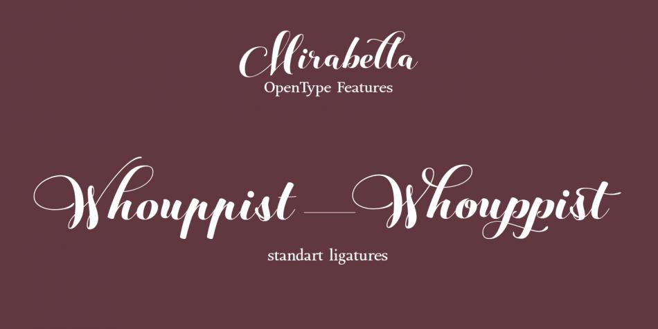 Mirabella Font Family
