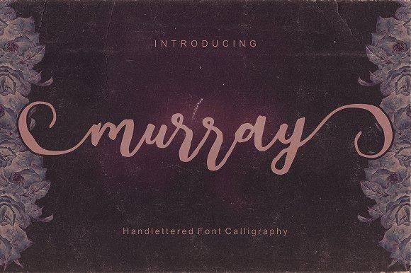 Murray Script Font Duo
