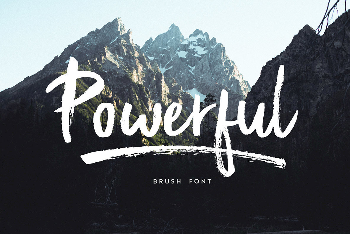 Powerful Font Family
