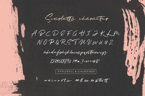 Scarletto Two Font