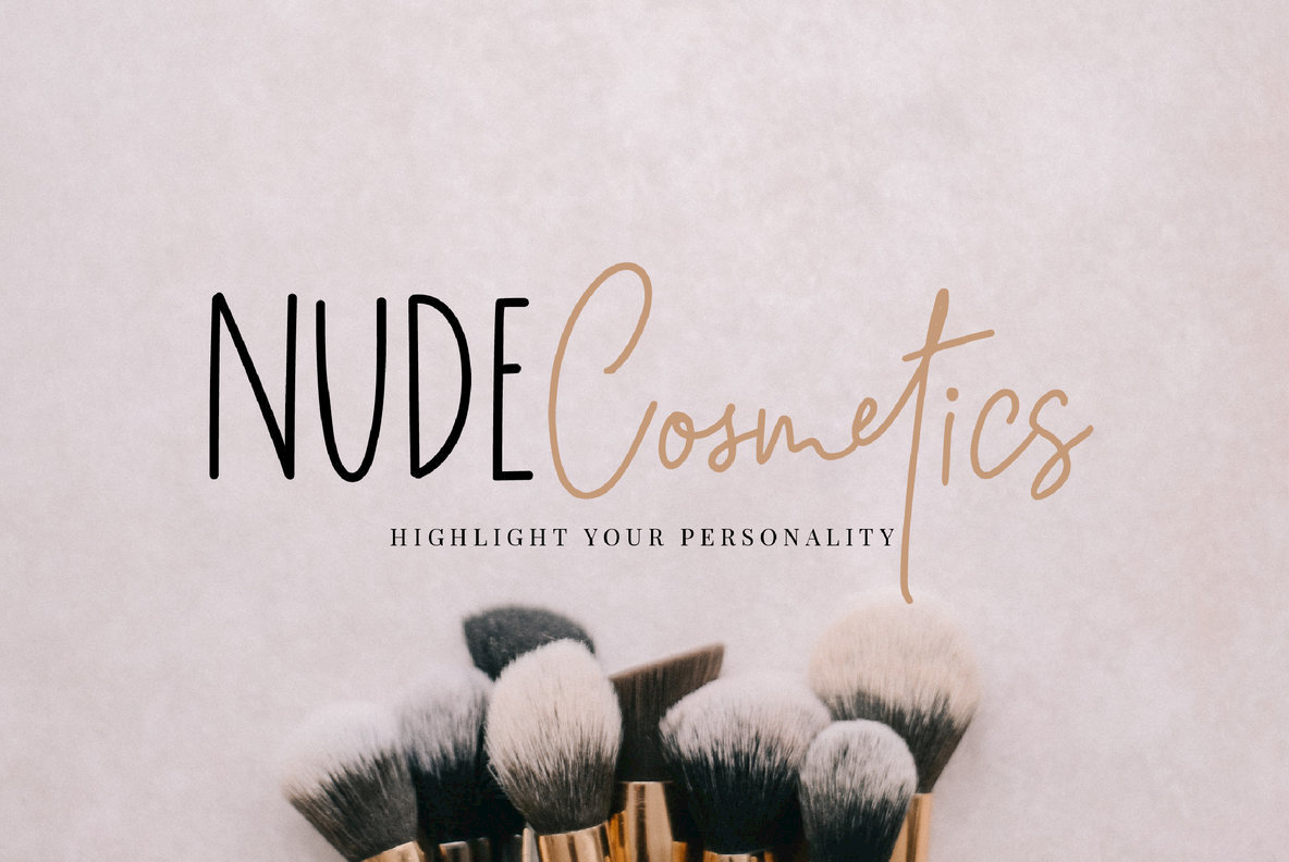 Simply Breathtaking Font Duo Font Family