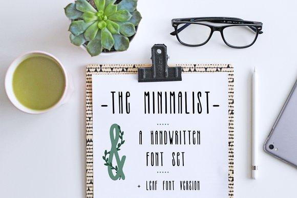 THE MINIMALIST - skinny tall font