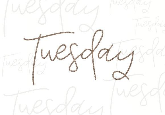 Tuesday - Handwritten Script Font - iFonts xyz