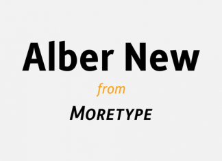 Alber New Font Family
