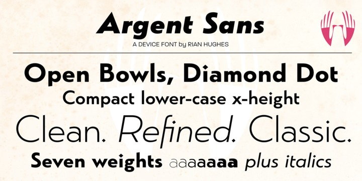 Argent Font Family